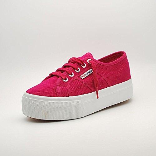 Superga Damen 2790 Acotw Linea Up and Sneakers Cerise