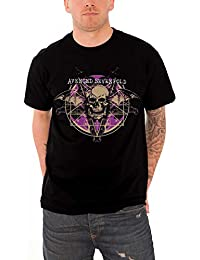Avenged Sevenfold T Shirt Ritual Death Bat Band Logo Mens Official Mens Black