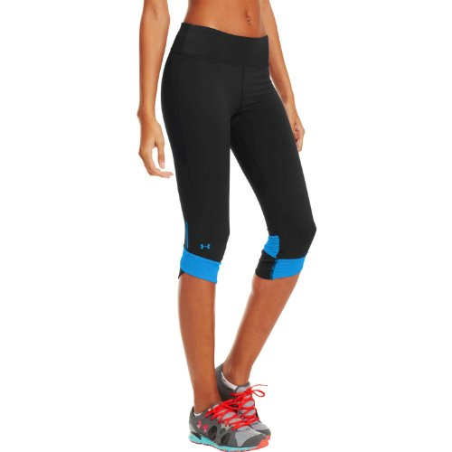 Under Armour - Pantaloni sportivi elasticizzati da donna nero - Noir - Noir