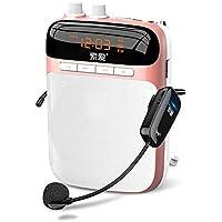 Loudspeakertu Altavoz bocina Megáfono Mini guía de Turismo para Maestros Reproductor inalámbrico portátil (Color : B)