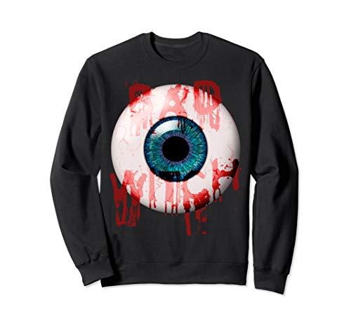 Kind Niedliche Kostüm Blutige - Böse Hexe - gruseliges blutiges einäugiges Halloween-Kostüm Sweatshirt