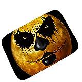 LJIE Halloween Party Fußmatte Willkommen Teppich Schlafzimmer Wohnzimmer Küche Tür Teppich,50 * 80Cm