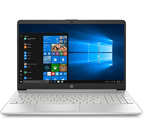 hp 15s-fq0003nl notebook pc, core i3-8145u, ram 8 gb, ssd da 256 gb, display hd 15.6 antiriflesso, argento naturale