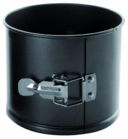 IBILI Panettone-Backform 16x10 cm, Stahlblech, schwarz, 16 x 16 x 10 cm Panettone Form