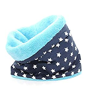 Hundeloop – Stars Blue, Schal für Hunde, wunderbar warm und weich