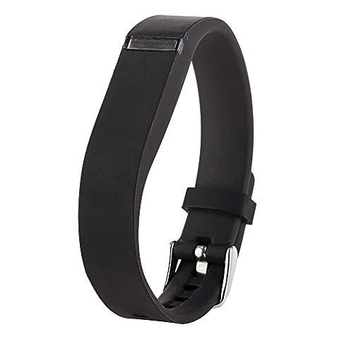 Greatfine Bracelet de Montre en Silicone pour Fitbit flex Regardé