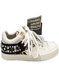 d78998bf053d Converse Sneakers Ctas Leather Tribeca Ltd Ox Bianco 562920C (37 - Bianco)