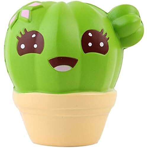 squishys juguete, fundido Power Cute Cactus Squeeze Stress Relief Super Suave lentamente Rising, Soft squishies kawaii de descompresión toy para niños & Adultos San Valentín Regalo
