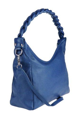 Made Italy , Sac bandoulière pour femme Bleu - Königsblau