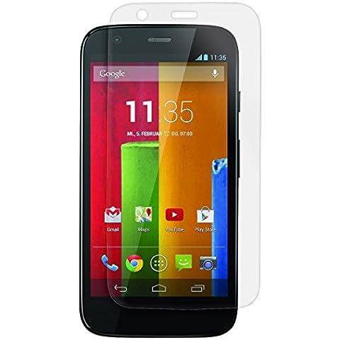 kwmobile Pellicola protettiva per display OPACA e ANTIRIFLESSO con effetto anti-impronte per Motorola Moto G (1. Gen) - QUALITÀ PREMIUM