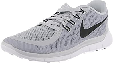 Nike Men s Free 5.0 Running Shoe PURE PLATINUM/WOLF GREY/COOL GREY/BLACK 6.5 D(M) US