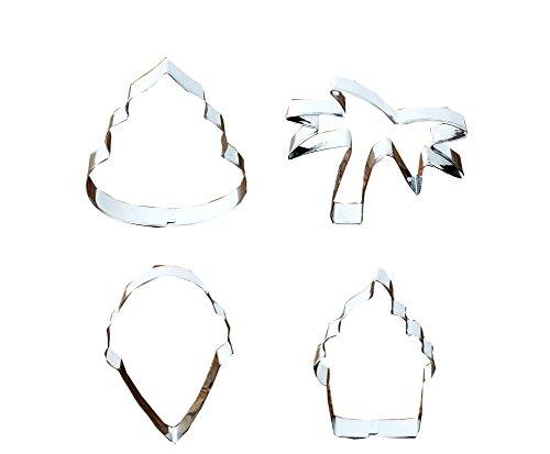 rieren Cutter Werkzeug-Set Biscuit Ausstechform 4 Stück ()
