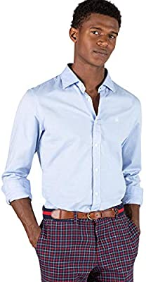 El Ganso Urban Iconic Camisa casual, Azul (Azul 0018), XX-Large para Hombre