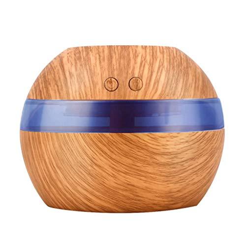 300 ml Elektrische Ultraschall Luftbefeuchter Aromatherapie Ätherisches Öl Diffusor Aromatherapie USB Home Classic -