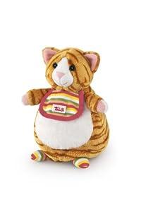Trudi - Marioneta de Peluche Gato Rojo y ratón (29982)
