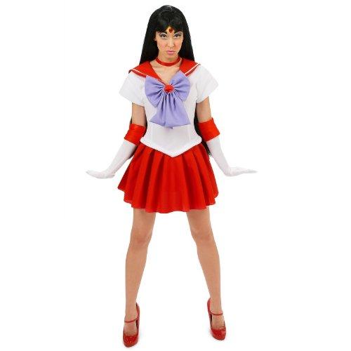 Sailor Moon Mars Sexy Adult Costume Small (Sailor Mars Kostüm)