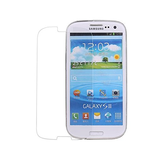 Teflon Samsung Galaxy S3 I9300 HD+ 9H Hardness Toughened Tempered Glass Screen Protector