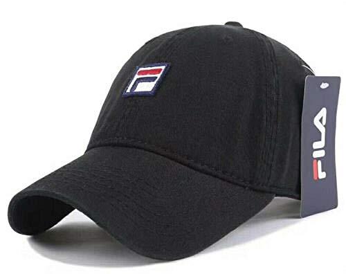 Baseball Caps Hip Hop Hüte Angeln Golf Sonnenschirm Laufen im Freien Trucker Sports One Size FILA/TNF Mode Sport Einstellbare Mens Womens Golf Hat @ Black