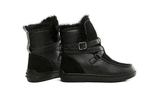 YYH Des femmes quotidienne chaussures daim bottes