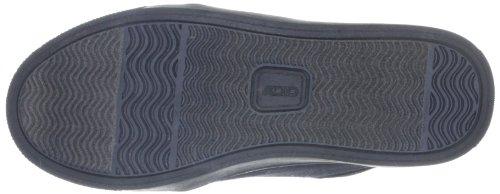 Adio Indy-Kunstleder-Kids 602637, Chaussures de skateboard mixte enfant Noir-TR-C3-149