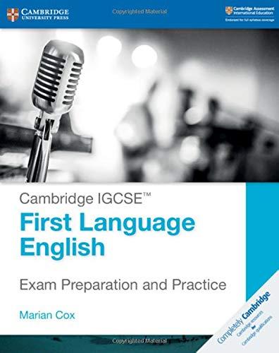 Cambridge IGCSE. First language English. Exam preparation and practice. Per le Scuole superiori. Con espansione online (Cambridge International IGCSE)