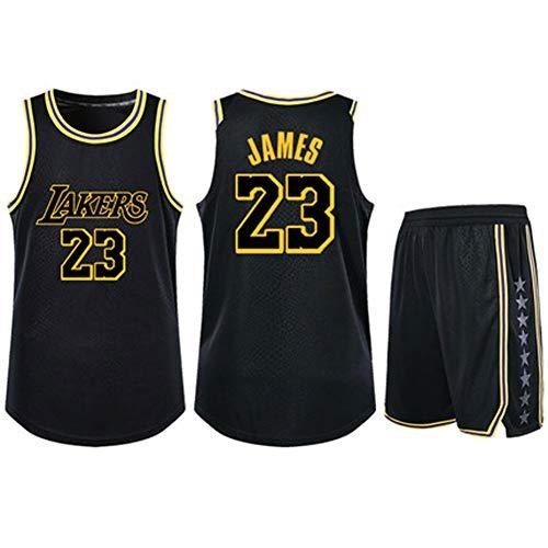 Wright 23 King James Basketball-Trikots-XXXL, 90er Jahre Hip Hop-Kleidung für Party, Los Angeles Lakers Trikots Basketball Uniform Top \u0026 Short