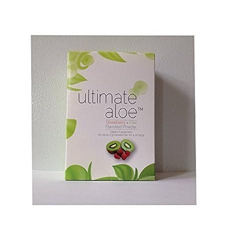 Ultimate Aloe Powder - Strawberry Kiwi Flavor Single Box (16 Servings) by Ultimate Aloe