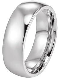 PROSTEEL - 6mm Anillo Clásico del Estilo Sencillo de Acero Inoxidable para Hombre y Mujer Anillo de Matrimonio…