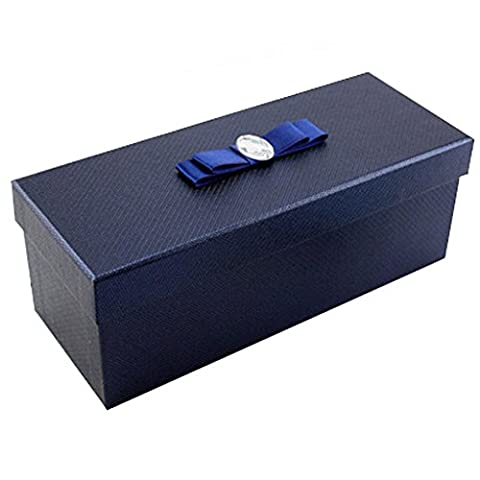 Premium Rectangle Gift Box Gift Wrap Favor Boxes Present Packaging, Blue