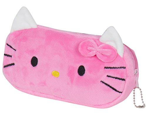 Chords Hello Kitty Dark Pink Pencil Pouch With Smooth Zipper In Soft Toys For Women