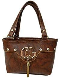Women's Leather Sling Bag (Brown) - B078NZ3ZRT