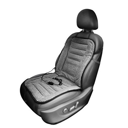 AFTERPARTZ H-W45-Grey Beheizbare Sitzauflage 12 V, Grau