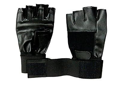 Tubination Pair Of Black Bike Gloves For Mens