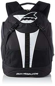 Rollerblade Marathon Backpack LT 30 Inliner Tasche, Schwarz/Weiß, One Size