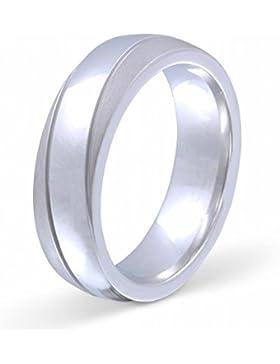 Flame -Ring Trauring Antragsring Ehering 925er Sterling Silber -gratis Gravur S-AH-H