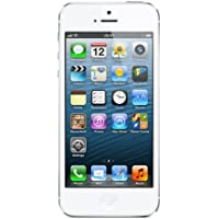 "Apple iPhone 5 - Smartphone libre iOS (pantalla 4"", cámara 8 Mp, 16 GB, Dual-Core 1.3 GHz, 1 GB RAM), blanco"