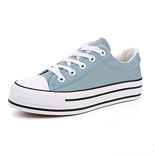 Chaussures de toile d'été faible/Avec des semelles épaisses chaussures étudiant E