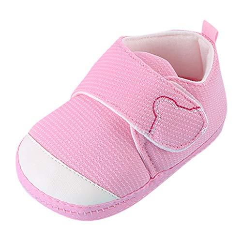 Pingtr Klassische Kleinkind Schuhe - Neugeborenes Baby-Kleinkind scherzt Mädchen-Jungen-Nette Karikatur-weiche erste gehende - Kostüm Rot Glitter Schuhe