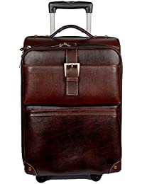 95ea0a49b9 Bag Jack - Set in style with the Betelgeuse brown color leather trolley  travel ...