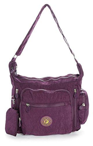 big-handbag-shop-sac-bandouliere-leger-en-tissu-poches-multiples-taille-m-violet-lush-purple-one