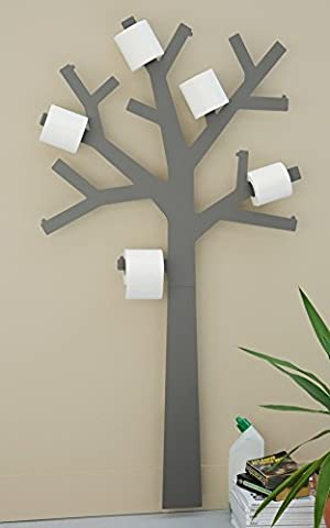 Presse Citron Tree-Shaped Toilet Paper Holder, (Albero Carta Igienica)