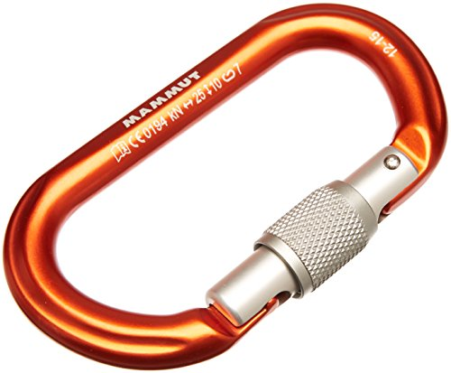 Mammut Karabiner Wall Oval, Orange, One size, 2210-00931-1520-1
