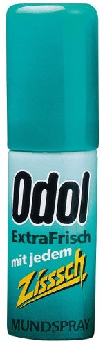 Odol Mundspray extrafrisch, Zisssch, 15 ml