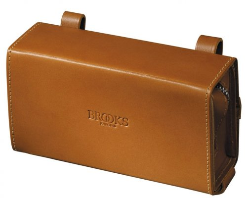 Brooks D-Shaped Tool Bag Sattel Tasche, D-Shaped Tool Bag Honig