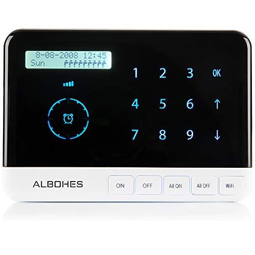 Albohes Bewässerungscomputer Wlan zur automatischen Bewässerung für bis zu 9 Ventile, Zeitschaltuhr Bewässerung, App-Steuerung, 2.4 Ghz Wifi Verbindung