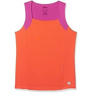 WILSON Mädchen Tennisbekleidung G SU Motion Shirt Tennis Tank, Kinder, Kinder, G SU Motion