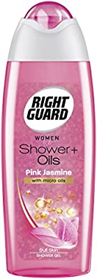 Right Guard Shower + Pink Jasmine with Micro Oils Dull Skin Women Shower Gel, 250ml : everything 5 pounds (or less!)