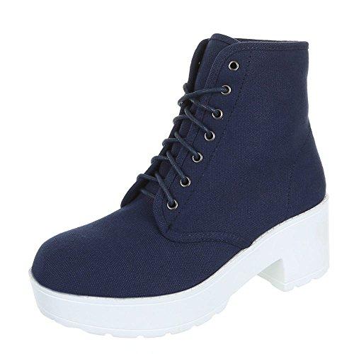 Damenschuhe Stiefeletten Schnur Sapatos Casuais Preto Branco Azul 36 38 39 40 41