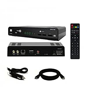 Wisi - WISI OR 07HD Récepteur satellite HD + Carte Fransat + HDMi 2M + Cable 12V Allume cigare - OR07HDC12