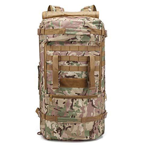 Zaino militare tattico 54l grande zaino molleborsa impermeabile assault per il campeggio escursionismo caccia trekking,cpcolor,54l